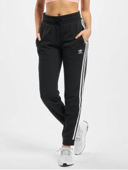 adidas Originals Спортивные брюки Slim  черный