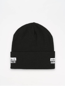 adidas originals шляпа Cuff Knit  черный