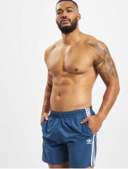 adidas Originals Badeshorts 3 Stripes blau