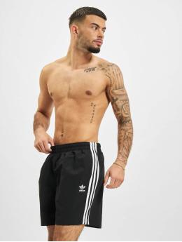 adidas Originals Badeshorts 3-Stripes Swim schwarz