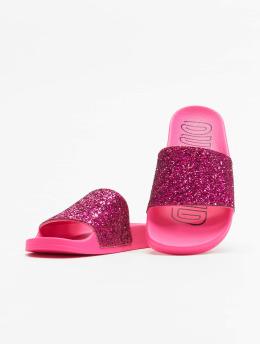 adidas originals Badesko/sandaler Adilette lyserosa