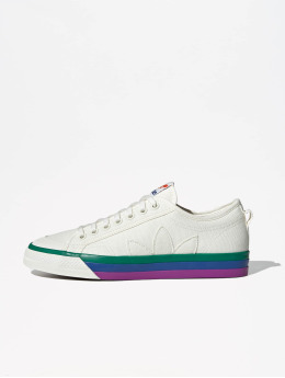 adidas originals Baskets Nizza Pride blanc