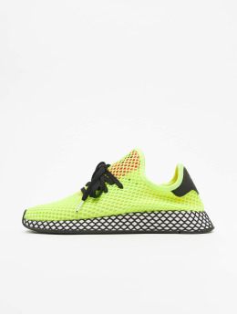 adidas originals Baskets Deerupt jaune