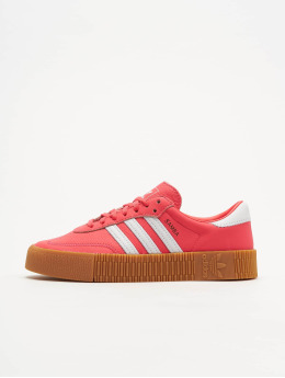 adidas originals Baskets Sambarose W rouge