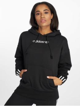 adidas originals Bluzy z kapturem Coeeze czarny
