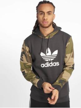 adidas originals Bluzy z kapturem Camo Oth czarny