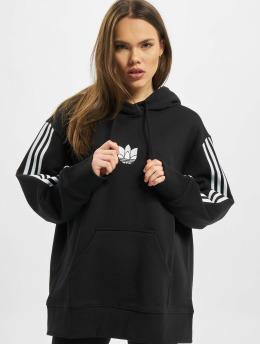 adidas Originals Bluzy z kapturem Oversized  czarny