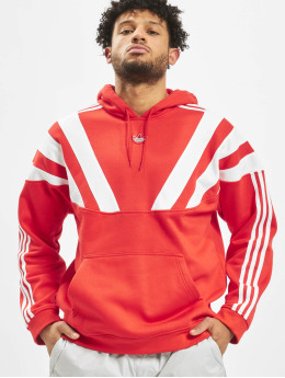adidas Originals Bluzy z kapturem Blunt 96  czerwony