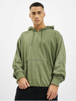 adidas Originals Bluzy z kapturem Cross Up 365 zielony