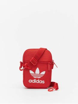 adidas Originals Bolso Festival Trefoil rojo