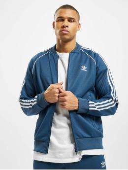 adidas Originals Bundy na přechodné roční období SST Track modrý