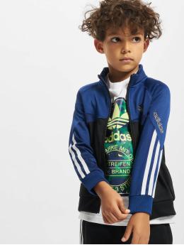 adidas Originals Bundy na přechodné roční období Trefoil  modrý
