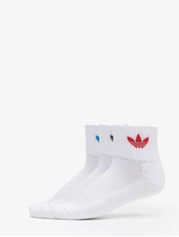 adidas Originals Calzino Mid 3-Pack bianco