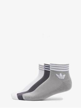adidas Originals Calzino Trefoil  bianco