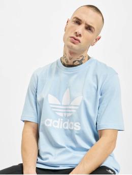 adidas Originals Camiseta Trefoil  azul