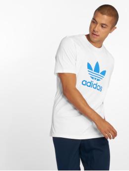 adidas originals Camiseta Trefoil blanco