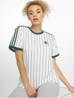 adidas originals Camiseta Boyfriend blanco