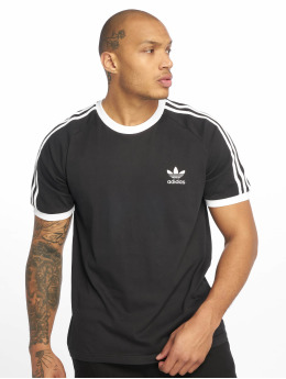 adidas originals Camiseta 3-Stripes negro