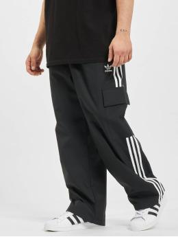 adidas Originals Cargohose 3-Stripes  schwarz