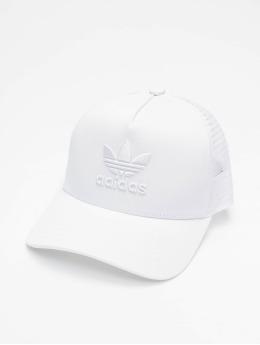 adidas Originals Casquette Trucker mesh Aframe Trefoil blanc