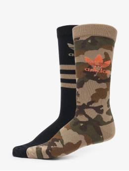 adidas Originals Chaussettes Camo Crew camouflage