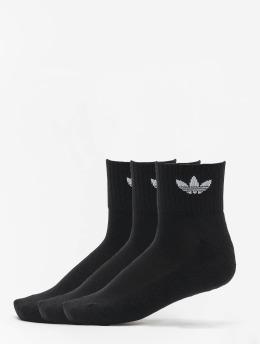 adidas Originals Chaussettes Mid Ankle noir