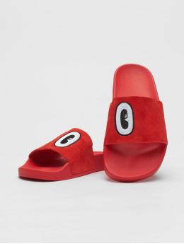 adidas originals Claquettes & Sandales Adilette rouge