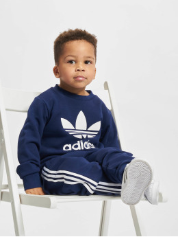adidas Originals Dresy Crew  niebieski