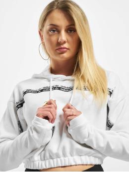 adidas Originals Felpa con cappuccio Cropped  bianco