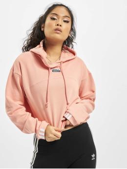 adidas Originals Felpa con cappuccio Cropped  rosa