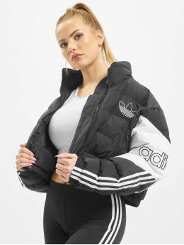 adidas Originals Gewatteerde jassen Cropped  zwart