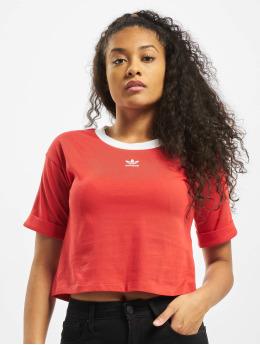 adidas Originals Hihattomat paidat Crop  punainen