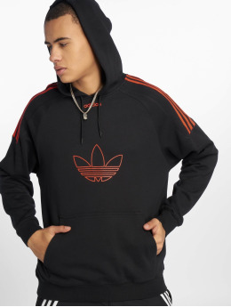 adidas originals Hoodie Flock black