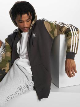 adidas originals Hoodies con zip Camo FZ mimetico
