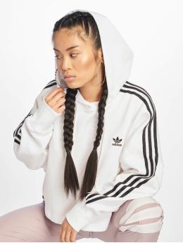 adidas Originals Hoodies Cropped hvid