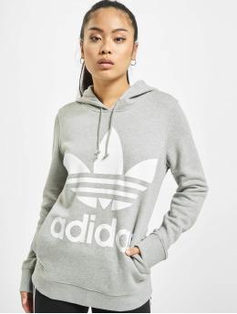 adidas Originals Hoody Trefoil grijs
