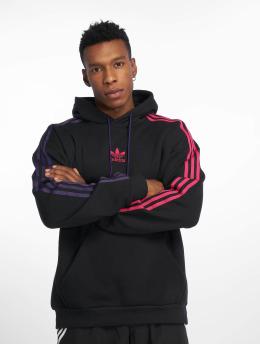 adidas originals Hoody 3 Stripe zwart