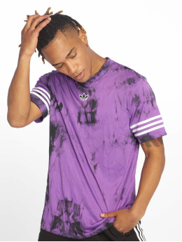 adidas originals Jersey Space Dye fialová