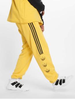 adidas originals Joggingbyxor Ft gul