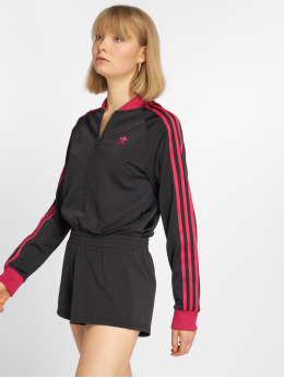 adidas originals jumpsuit adidas originals LF Jumpsuit zwart