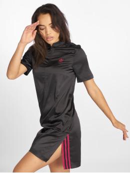 adidas originals jurk LF Satin zwart
