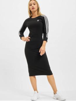 adidas Originals Klänning Originals 3 Stripes svart
