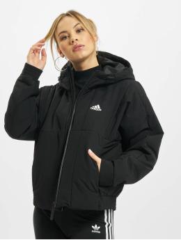 adidas Originals Kurtki zimowe BTS Hooded czarny