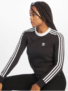 adidas originals Langermet Originals 3 Stripes svart
