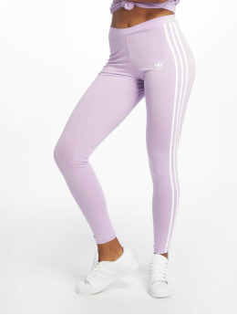 adidas originals Legging/Tregging 3 Stripes púrpura