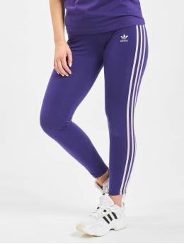 adidas Originals Legging/Tregging 3 Stripes púrpura