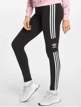 adidas originals Leggings/Treggings Trefoil czarny