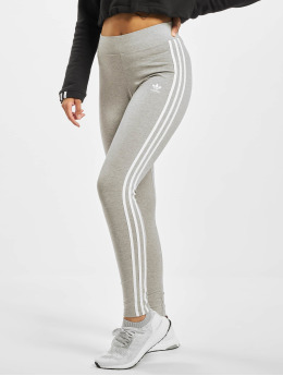 adidas Originals Leggings/Treggings 3-Stripes szary