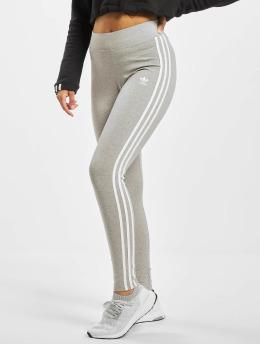 adidas Originals Leggingsit/Treggingsit 3-Stripes harmaa