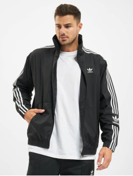 adidas Originals Lightweight Jacket Lock Up  black